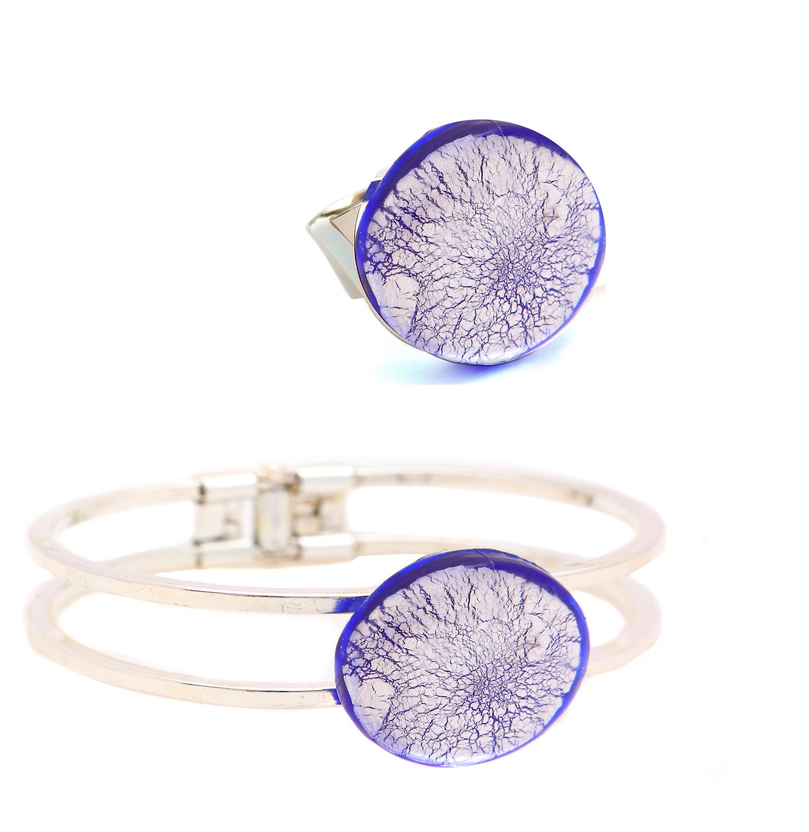 Комплект бижутерии Bottega Murano шнурок держатель для очков муранское стекло бисер ручная работа murano италия венеция