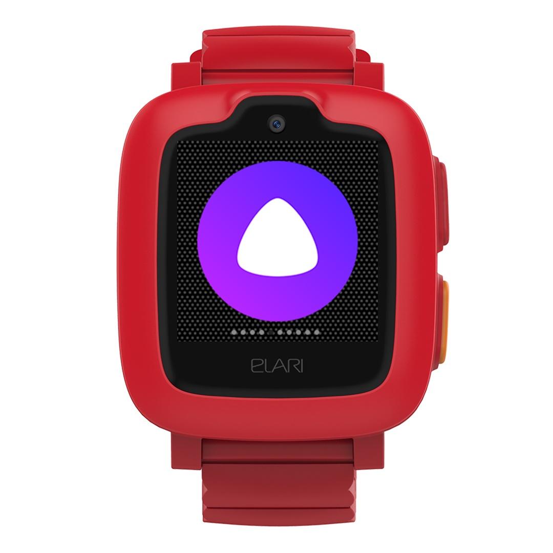 Умные часы для детей Elari KidPhone 3G, красный elari часы телефон elari kidphone 3g красные