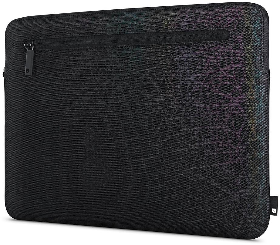 Чехол для ноутбука Incase Compact Sleeve in Reflective Mesh для MacBook 12, черный чехол для ноутбука 12 incase classic sleeve нейлон черный inmb10071 bkb