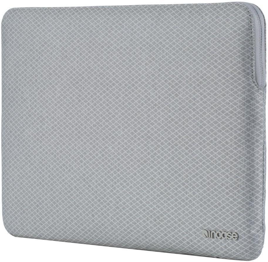 Чехол для ноутбука Incase Slim Sleeve with Diamond Ripstop для MacBook Air 13, серый чехол для ноутбука 12 incase classic sleeve нейлон черный inmb10071 bkb