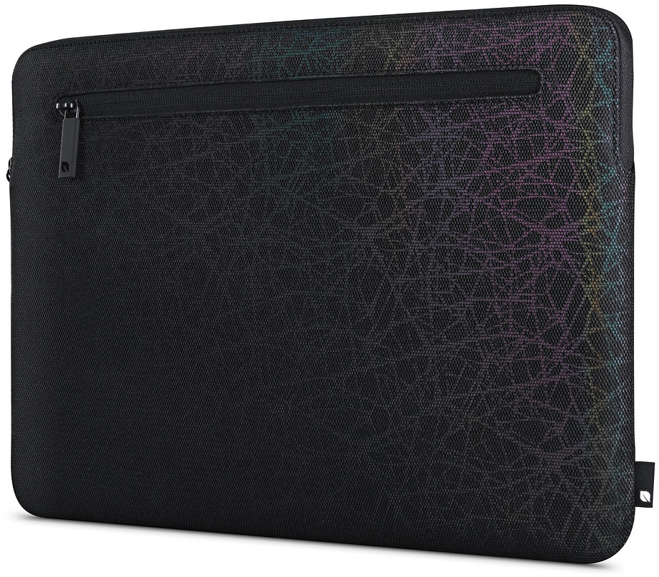Чехол для ноутбука Incase Compact Sleeve in Reflective Mesh для MacBook Air 13, черный чехол для ноутбука 12 incase classic sleeve нейлон черный inmb10071 bkb