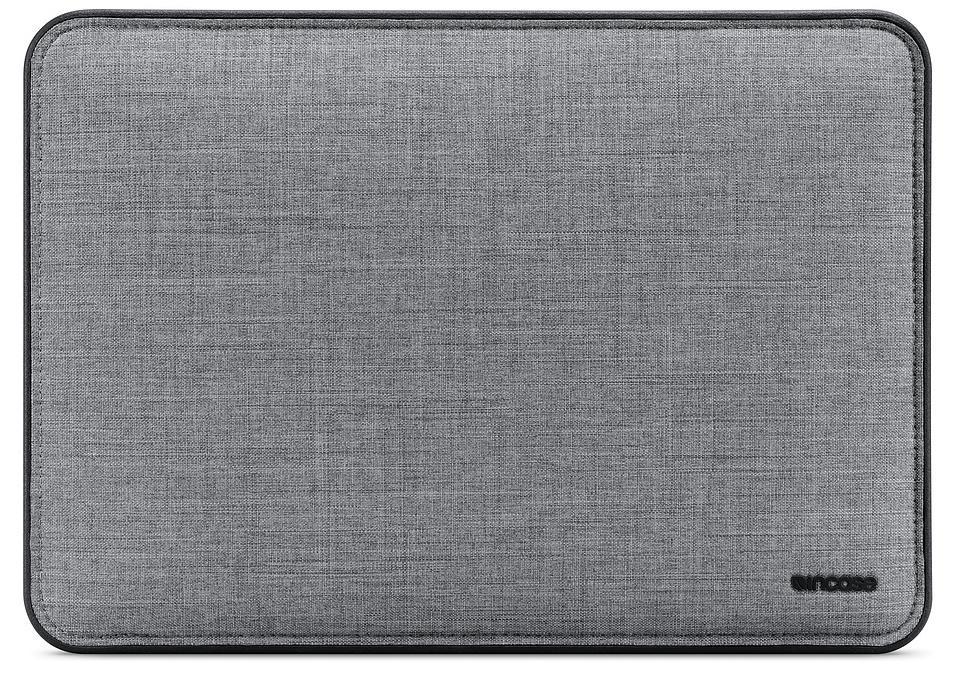 Чехол для ноутбука Incase ICON Sleeve with Woolenex для MacBook Pro 15, серый чехол для ноутбука 12 incase classic sleeve нейлон черный inmb10071 bkb