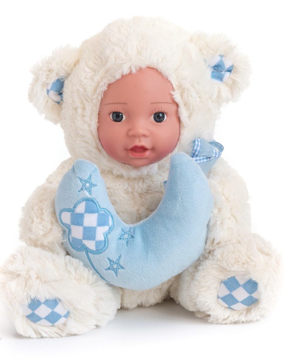 """Кукла """"Anna De Wailly"""" Медвежонок с шарфиком 25 см"""