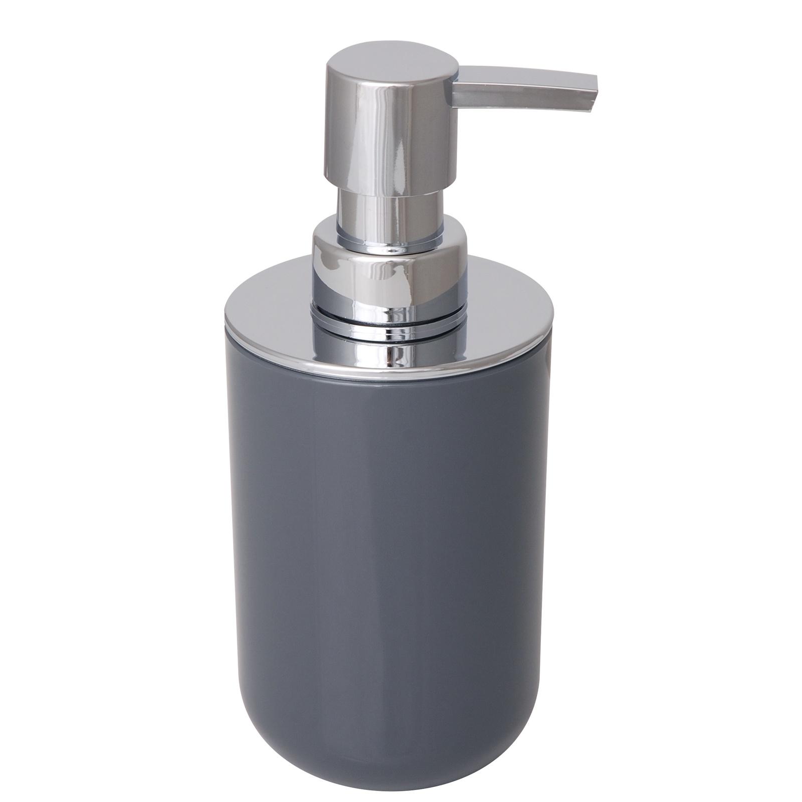Диспенсер для мыла Sibo ALBA GREY, серый дозатор для жидкого мыла king tower цвет серый 12349