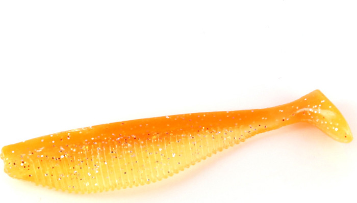 Приманка Tsuribito Rake Shad 2,8'', S030, съедобная, 96932, 70 мм, 7 шт
