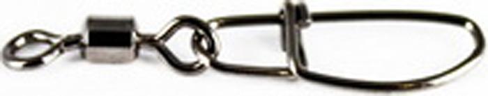 Аксессуар для рыбалки Tsuribito Карабин High Speed Double Rolling Swivel With Nice Snap №12, 23597, 10 шт вертлюги lucky john high speed double rolling 010 5шт