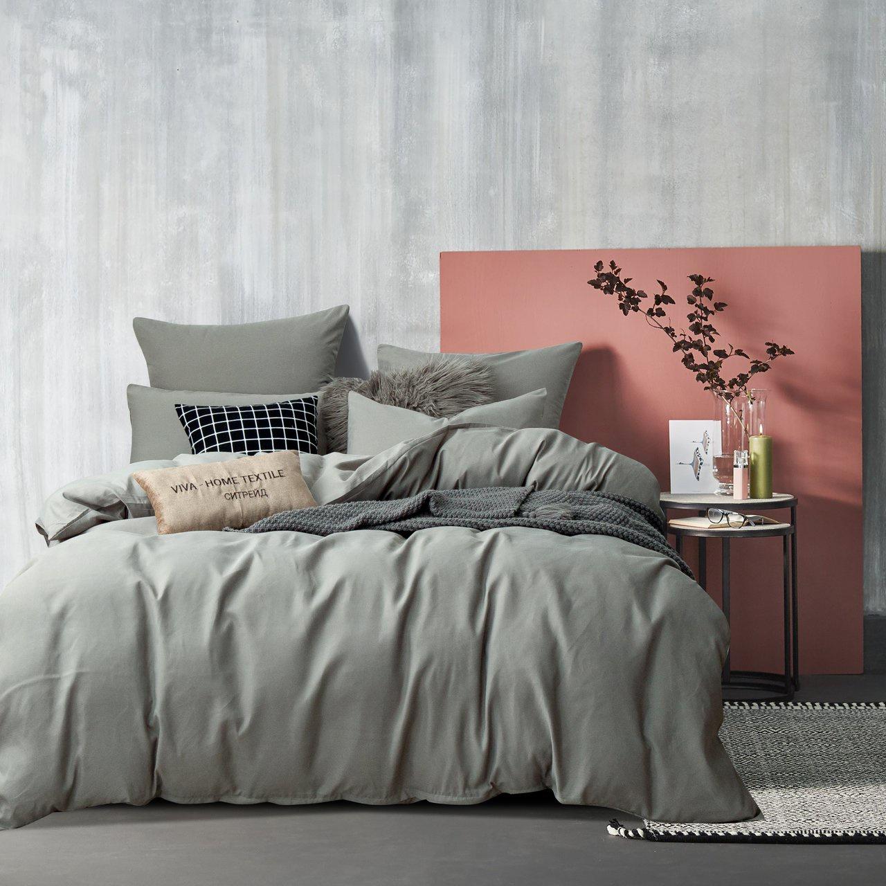 Комплект постельного белья Ситрейд CS023-1 50-70 1.5 спальный, наволочки 50-70 2 шт елка канадская 150 см 342 ветки 1 шт в упаковке 2
