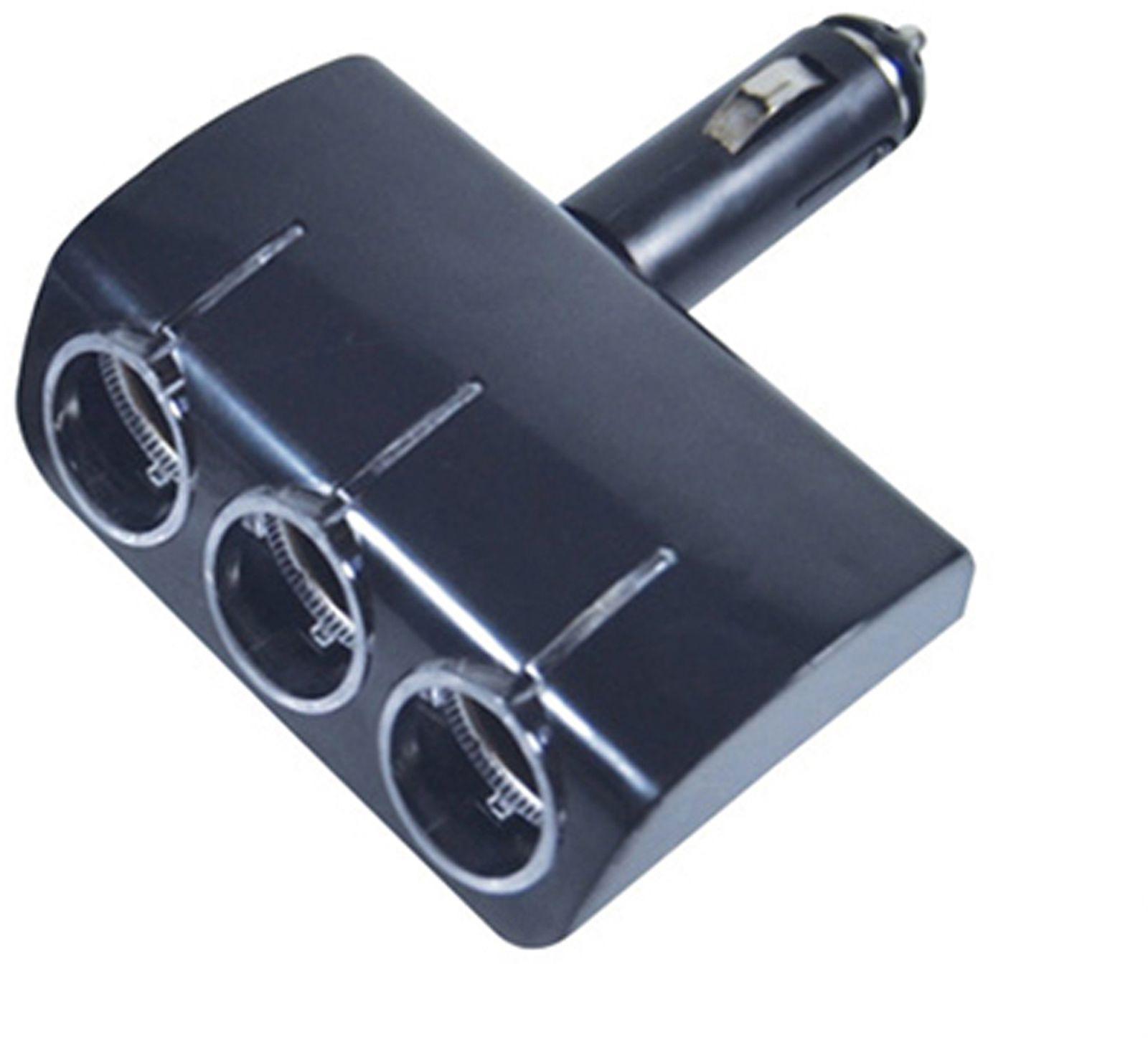 Разветвитель прикуривателя C2R, CDS-226, черный, с подсветкой разветвитель прикуривателя на 3 прикуривателя neoline sl 300