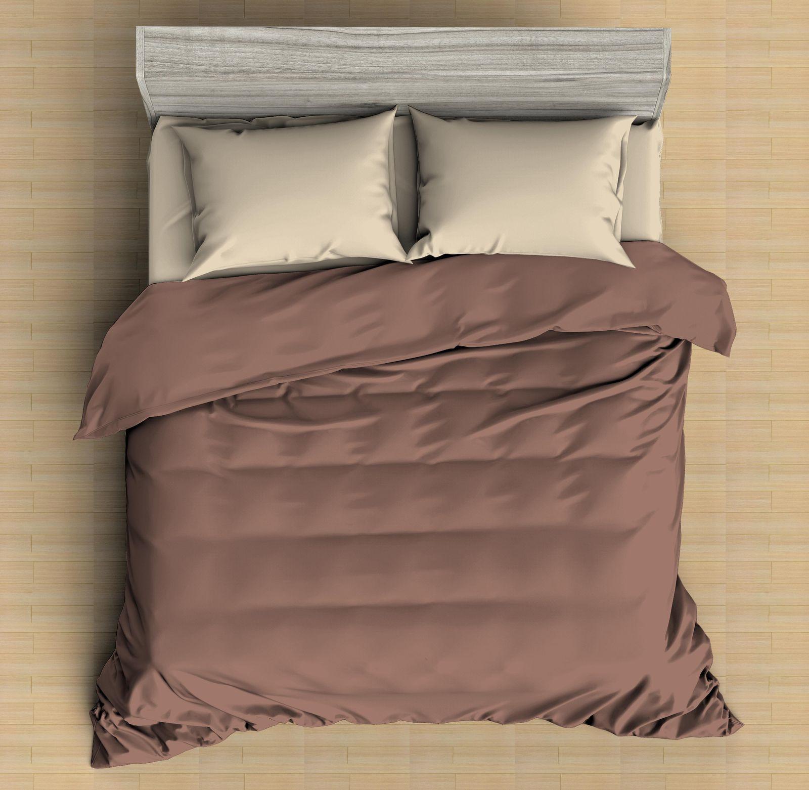 Комплект постельного белья Amore Mio Макосатин Arthur, 9562, фиолетовый, 2-спальный, наволочки 70x70