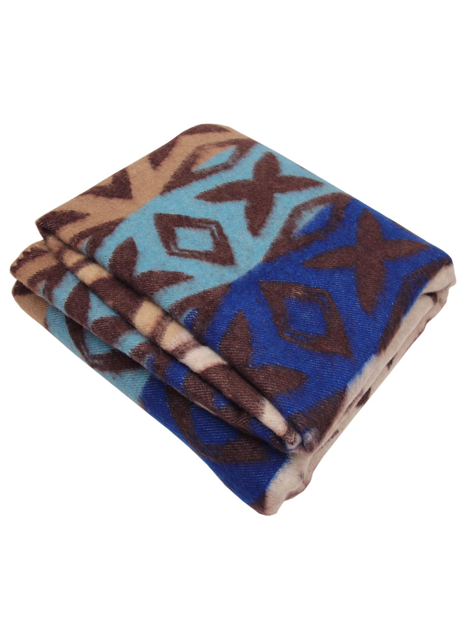 Одеяло Arloni 27362, голубой, коричневый полутороспальное одеяло arloni лоретта кассетное 140х205 теплое 140 17 03 эб