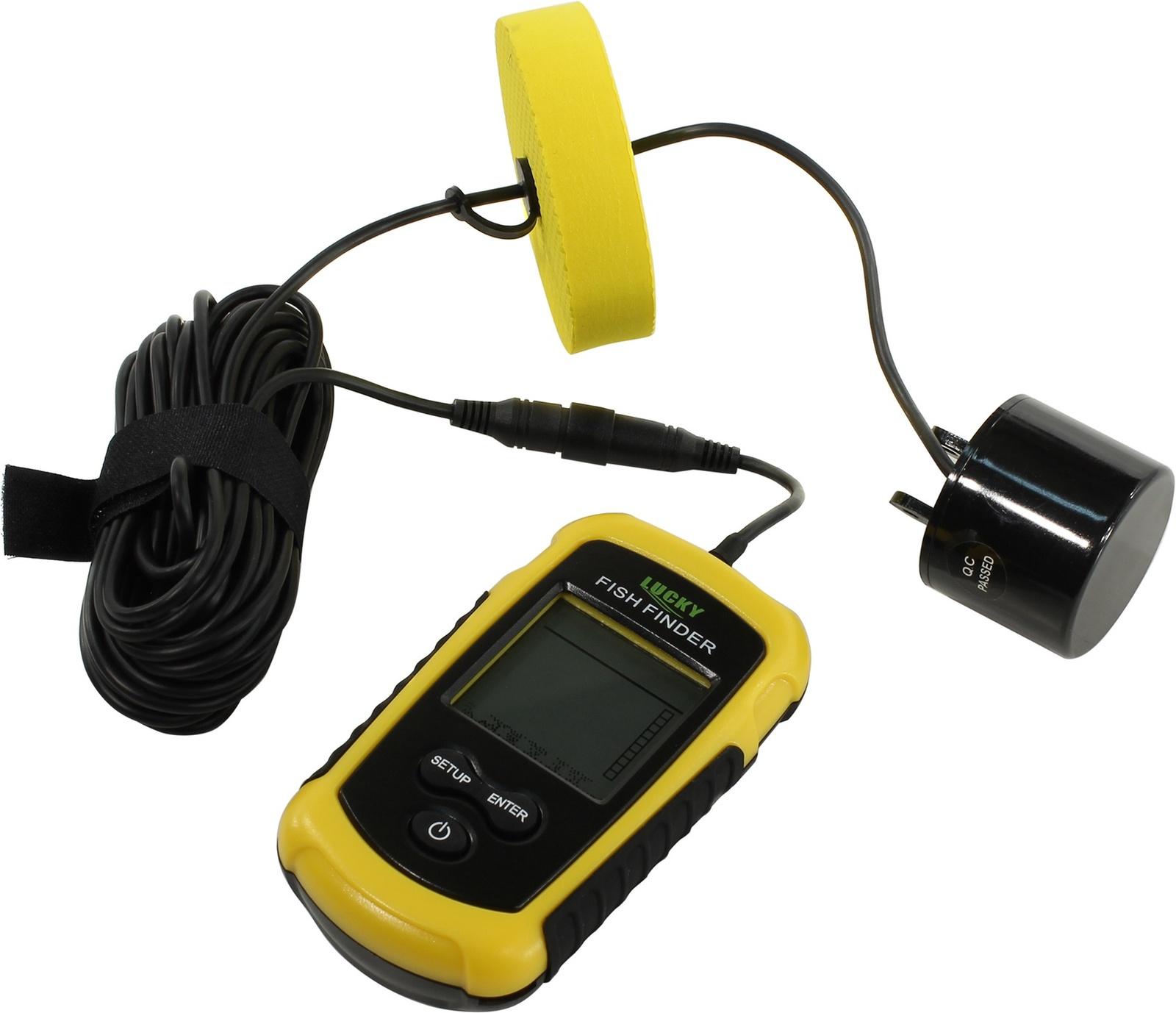 Эхолот Lucky FF-1108-1, желтый