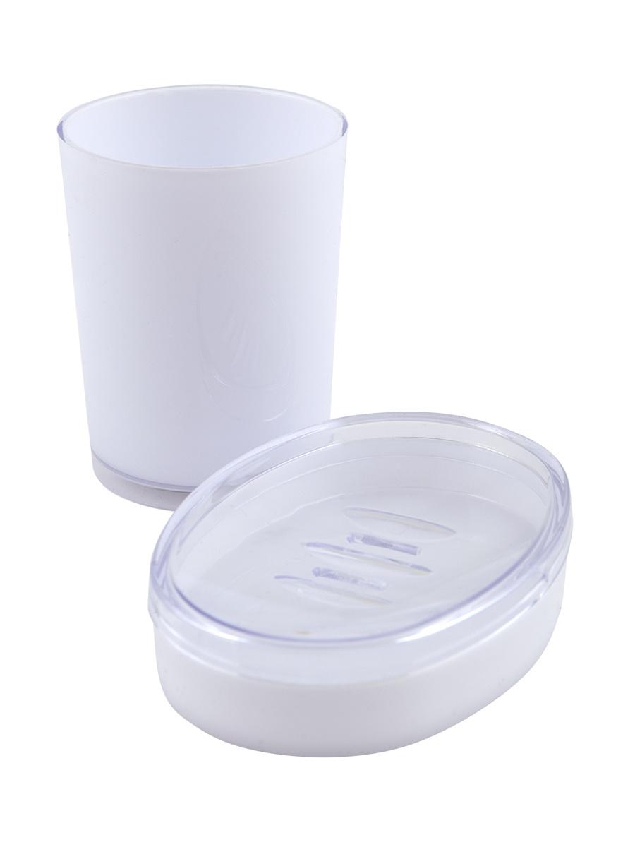 цена на Набор для ванной комнаты Aquarius 64339, белый