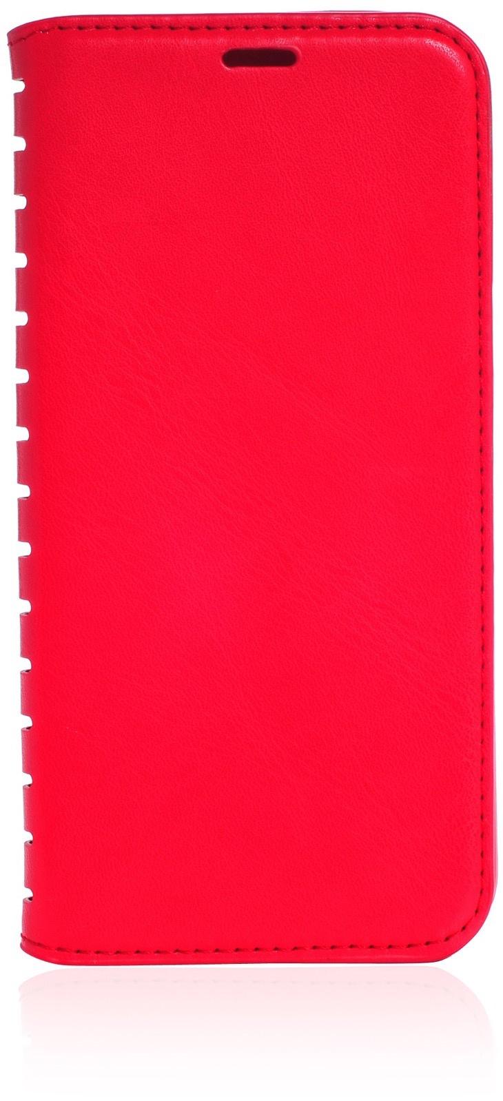 Чехол для сотового телефона Gurdini Premium case книжка с силиконом на магните red Honor 10i, красный