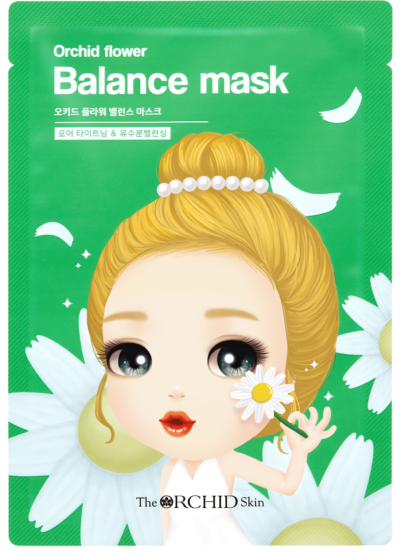 Тканевая маска для лица, балансирующая garnier маска тканевая для сухой и чувствительной кожи комфорт увлажняющая