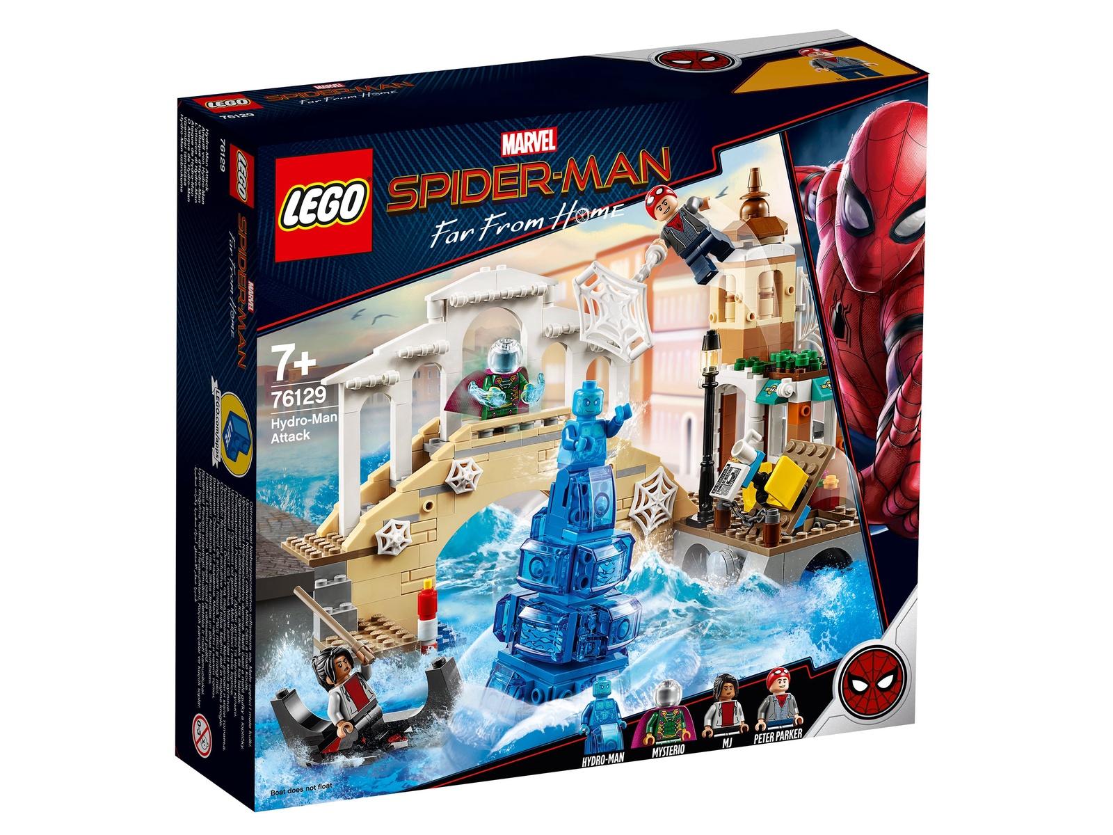 Пластиковый конструктор LEGO 76129