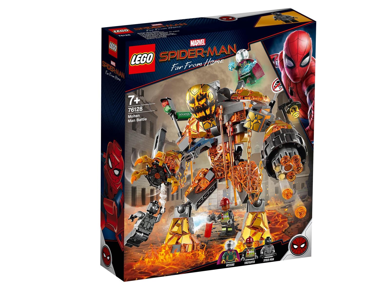 Пластиковый конструктор LEGO 76128