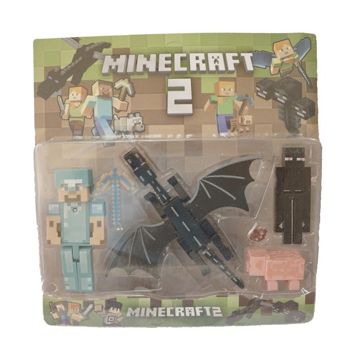 Набор фигурок Minecraft 2 middle (звук/свет) Pack 1 набор фигурок minecraft blacksmith with apron and anvil 8 см
