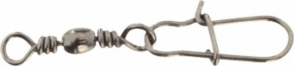 Аксессуар для рыбалки Mikado Застежка Fastlock, с вертлюжком №18, hx3030_018-000-00, серебристый, 12 шт