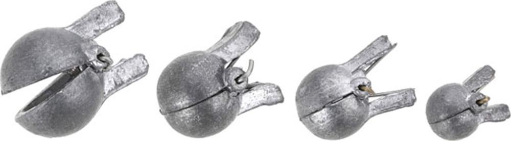 Глубиномер - прищепка Mikado, omc_1103_20-000-00, серебристый, 20 г, 10 шт