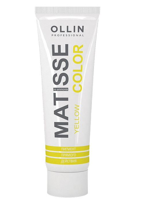 Фото - Краска для волос OLLIN PROFESSIONAL MATISSE COLOR желтый 100 мл ollin professional временная краска для волос matisse color 10 тонов 100 мл аквамарин