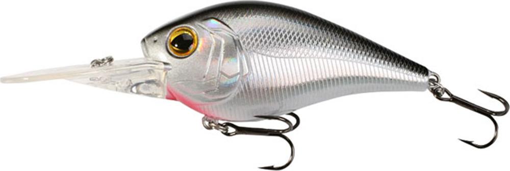 Воблер Mikado Kingfisher, плавающий, pwf_kr_7f-167-00, серебристый, 7 см