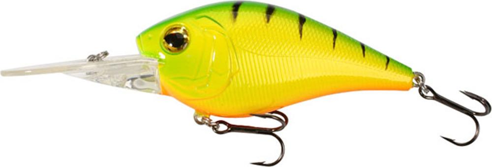 Воблер Mikado Kingfisher, плавающий, pwf_kr_7f-378-00, желтый, 7 см
