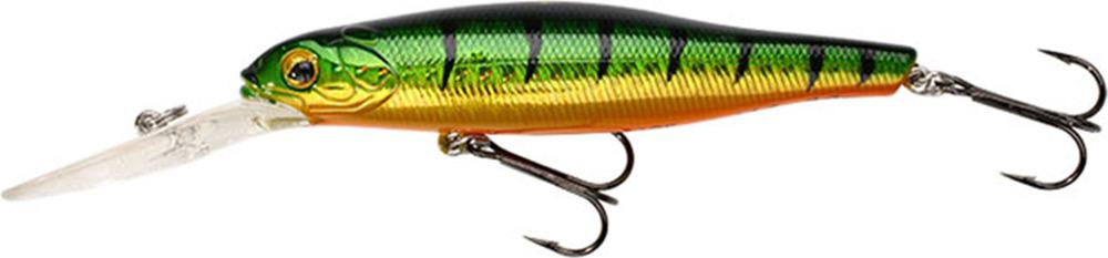 Воблер Mikado Shade, нейтральная плавучесть, pwf_sh_10n-382-00, зеленый, черный, красный, 10,5 см