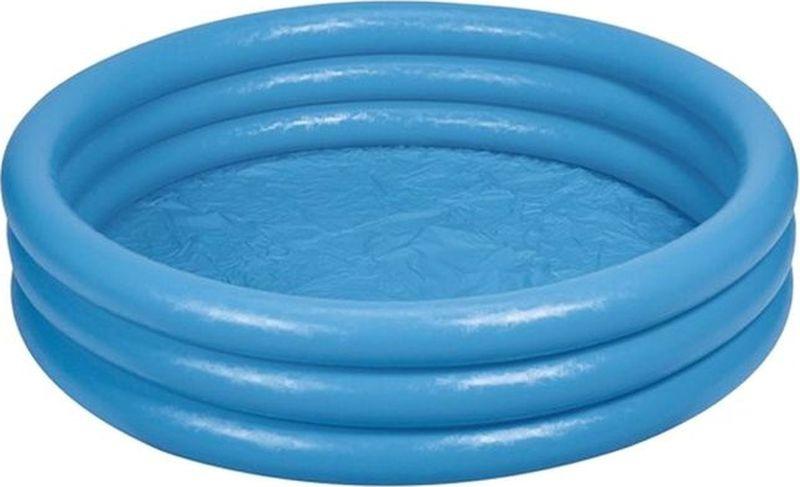 Бассейн Intex Кристал, надувной, с58446, синий, 168 х 41 см надувной бассейн intex с28166