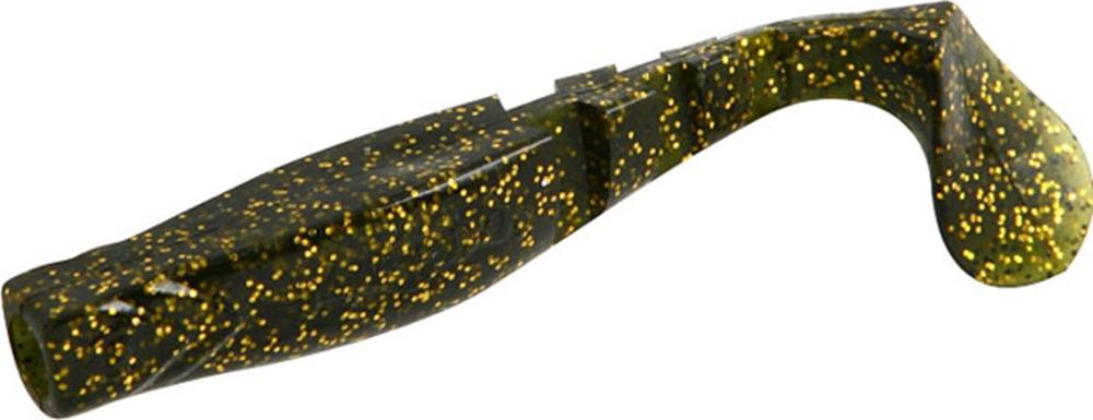 Виброхвост Mikado Fishunter 2, съедобная резина, pmfhl5_5-627-00, разноцветный, 5,5 см, 5 шт