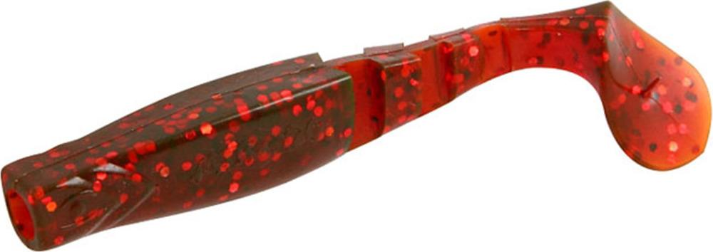 Виброхвост Mikado Fishunter 2, съедобная резина, pmfhl5_5-628-00, разноцветный, 5,5 см, 5 шт