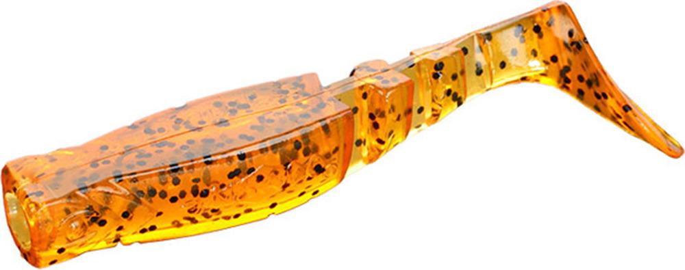 Виброхвост Mikado Fishunter 2, съедобная резина, pmfhl6_5-632-00, разноцветный, 6,5 см, 5 шт