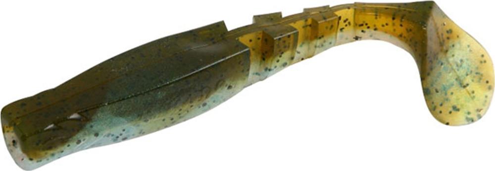 Виброхвост Mikado Fishunter 2, съедобная резина, pmfhl7_5-620-00, разноцветный, 7,5 см, 5 шт