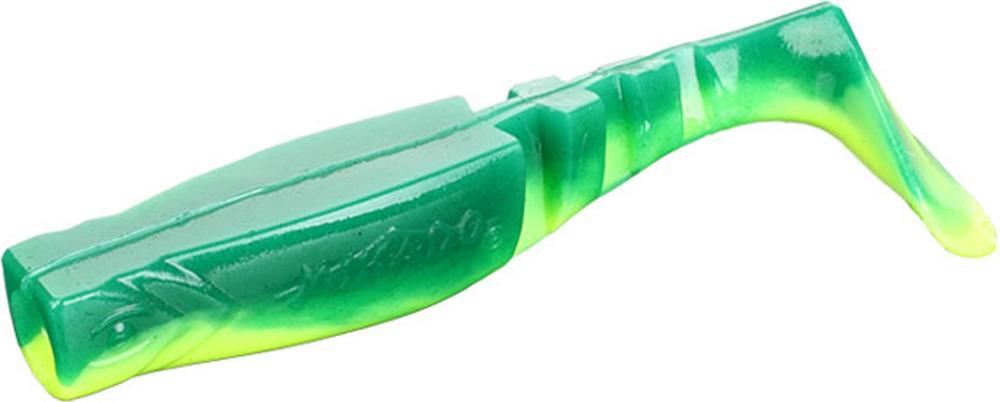 Виброхвост Mikado Fishunter 2, съедобная резина, pmfhl7_5-646-00, разноцветный, 7,5 см, 5 шт