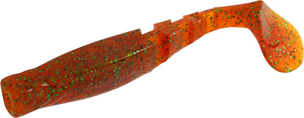 Виброхвост Mikado Fishunter 2, съедобная резина, pmfhl9_5-625-00, разноцветный, 9,5 см, 5 шт
