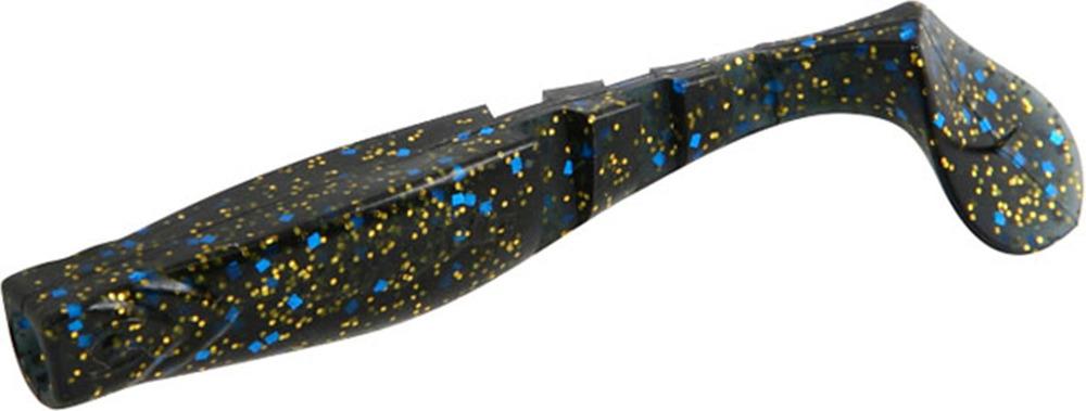 Виброхвост Mikado Fishunter 2, съедобная резина, pmfhl9_5-626-00, разноцветный, 9,5 см, 5 шт