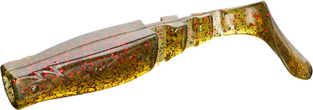 Виброхвост Mikado Fishunter 2, съедобная резина, pmfhl9_5-653-00, разноцветный, 9,5 см, 5 шт