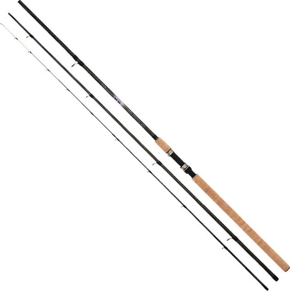 Удилище Mikado Ultraviolet Heavy Feeder 390, штекерное, wa319_390-000-390, черный цена