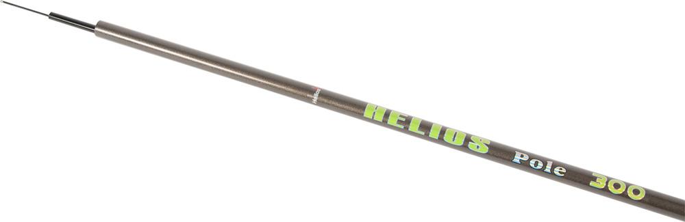 Удилище Helios Pole, телескопическре, маховое, hs_300bk-204-300, коричневый, 3 м