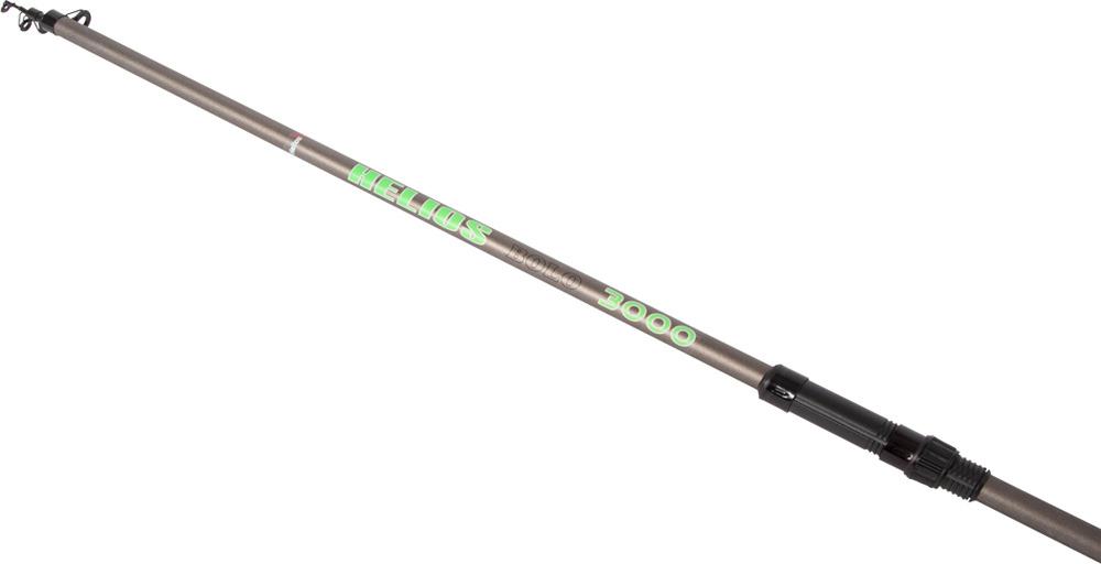 цена на Удилище Helios Bolo, телескопическое, проводочное, hs_300k-204-300, коричневый, 3 м