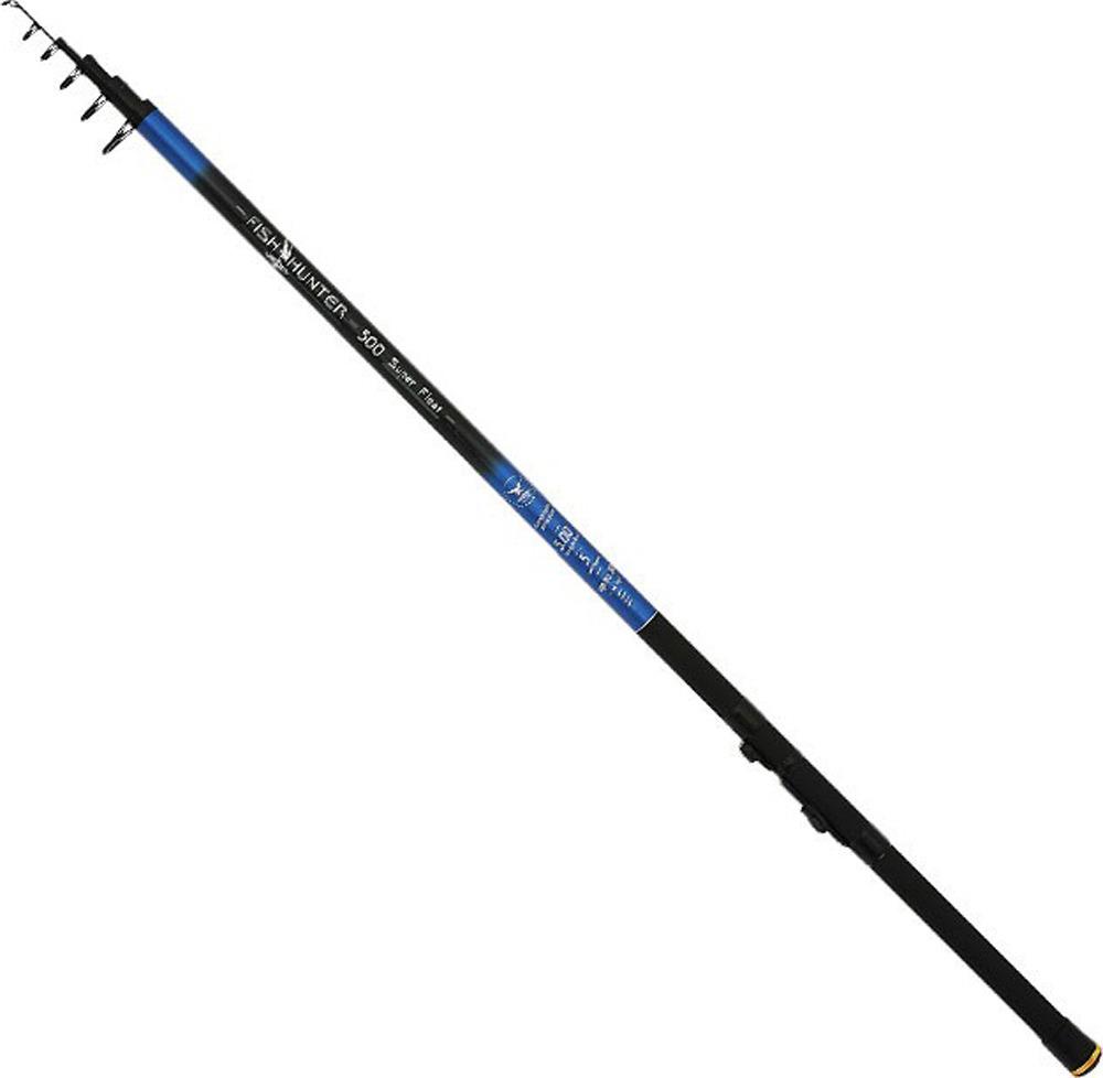 Удилище Mikado Fish Hunter Super Float 300, телескопическое, с кольцами, waa011_300-000-300, черный