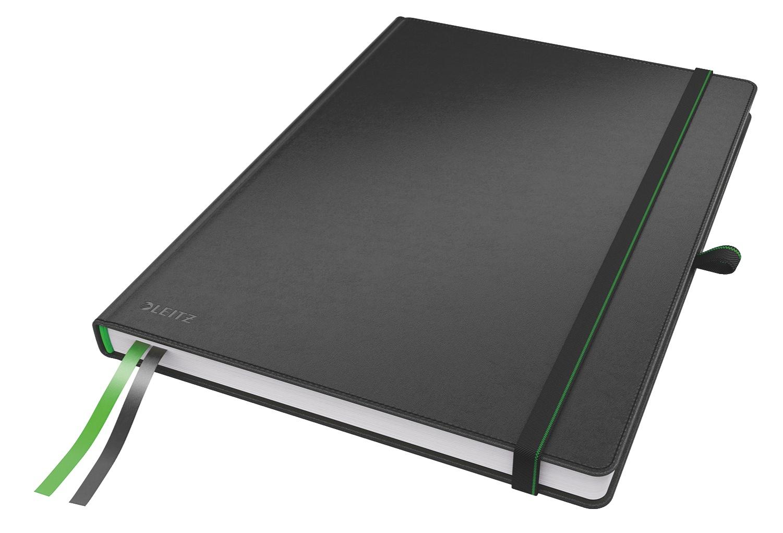 Записная книжка Leitz Записная книга Complete, А4, клетка, черный, 80
