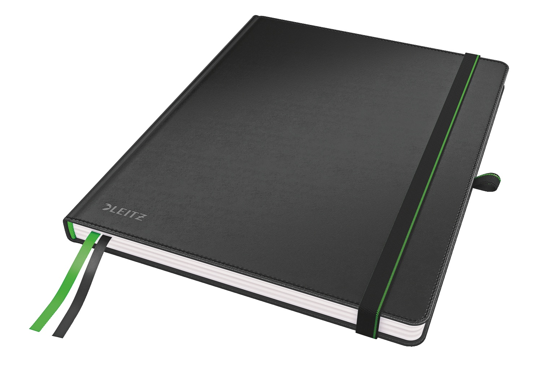 Записная книжка Leitz Записная книга Complete размер iPad, клетка, черный, 80 листов