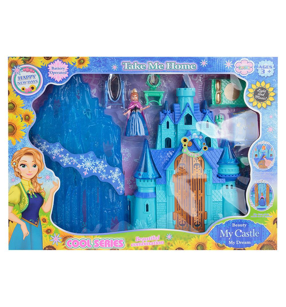 Дом для кукол Игруша Замок принцессы, ES-SG-2995 kid hop замок для принцессы winx розовая