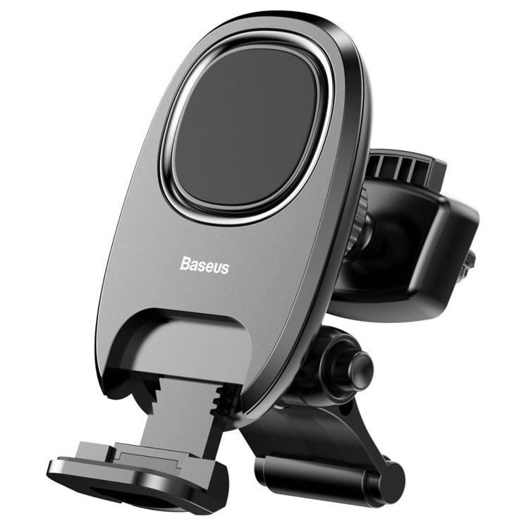 лучшая цена Автомобильный держатель для телефона в дефлектор магнитный Baseus Xiaochun Magnetic Car - Черный (SUCH-01)
