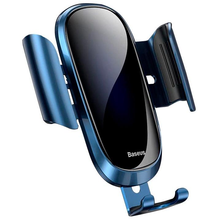 Автомобильный держатель для телефона в дефлектор Baseus Future Gravity - Синий (SUYL-WL03)
