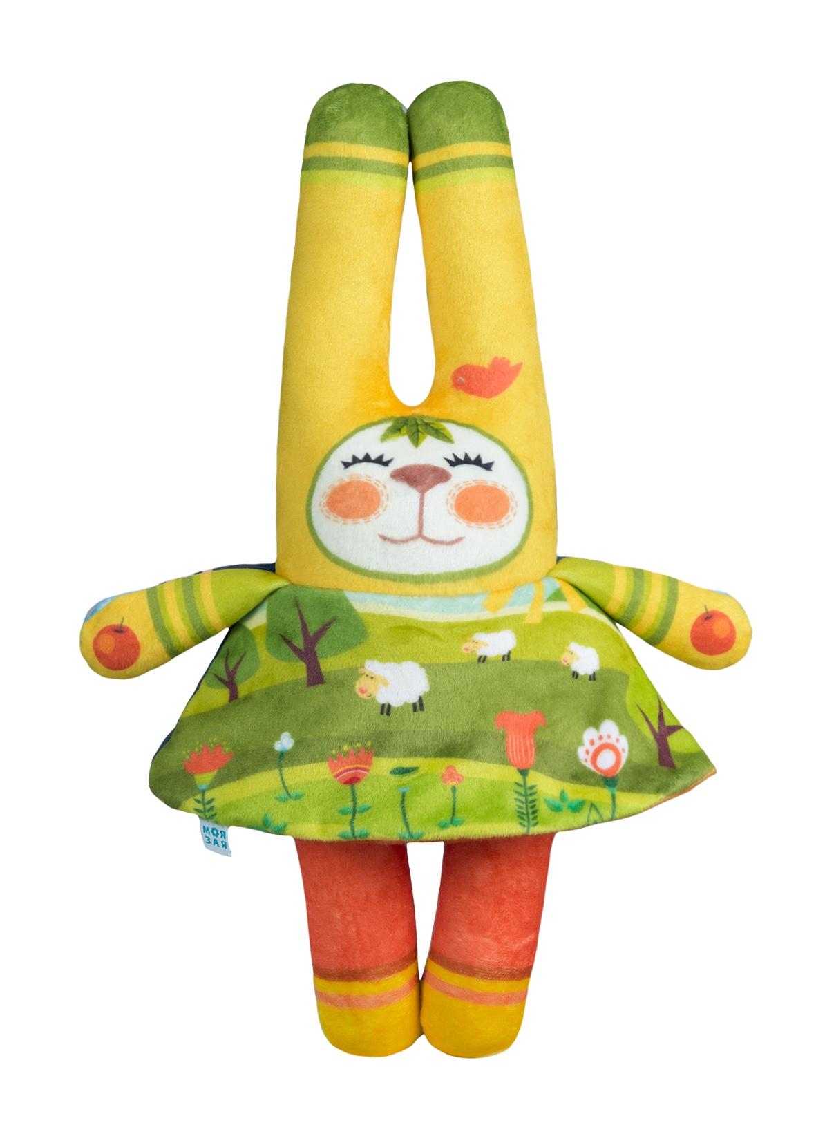 Мягкая игрушка МОЯ ЗАЯ Зая в костюмчиках на тему времена года: Осень, Зима, Весна, Лето