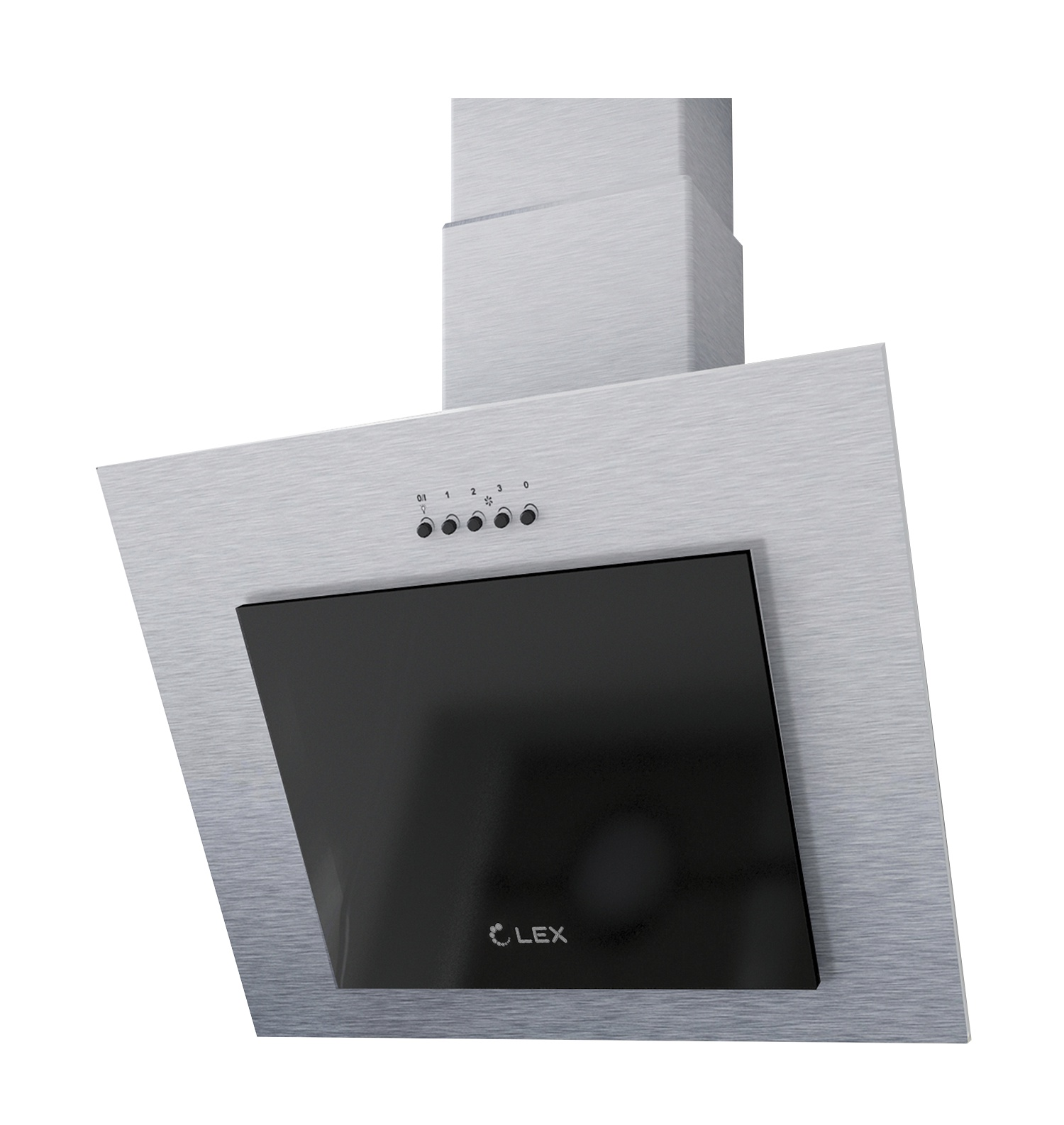 Вытяжка Lex Mini 600 Inox, серый металлик