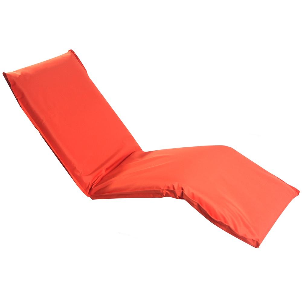 Кресло-шезлонг MERLIN LF08, оранжевый шезлонг из пластика кватросис шезлонг малага 152070501