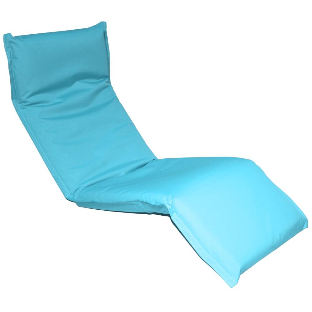 Кресло-шезлонг MERLIN LF08, голубой шезлонг из пластика кватросис шезлонг малага 152070501
