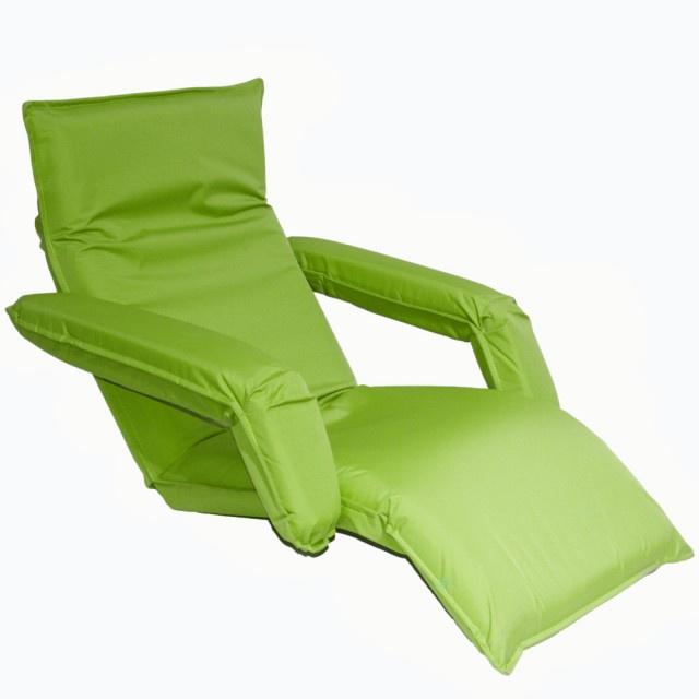 Кресло-шезлонг MERLIN LF10, зеленый шезлонг пластиковый 186х76х88см темно зеленый складной на колесах
